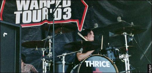 Riley Breckenbridge, Thrice drummer