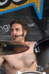 Brian Tichy, drummer for Billy Idol