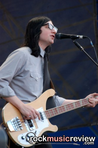 The Raconteurs at Lollapalooza 2006.