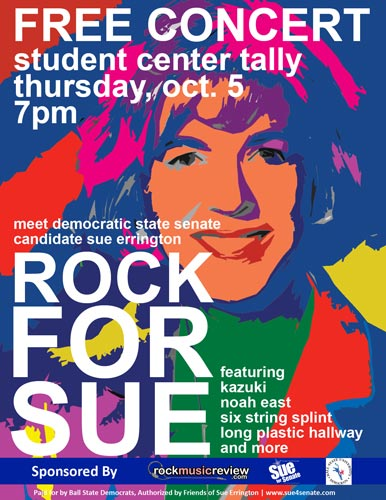 Sue Errington for Indiana Senate!